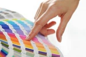 בחירת צבעים לצביעת דירה