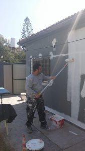 צביעת דירה ברחובות על ידי צבעי מקצועי