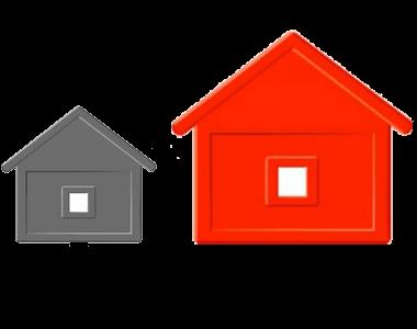 ההבדל שבין עבודת צבע קטנה לצביעת דירה עשו זאת בעצמכם.