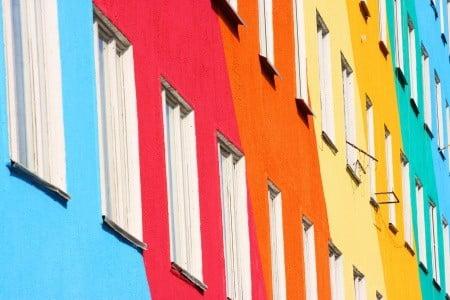 צביעה חיצונית של בניין