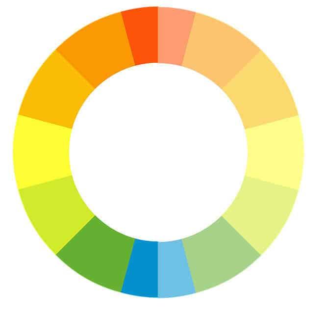 צבעים מרגיעים מול צבעים מעוררים בצביעת משרד