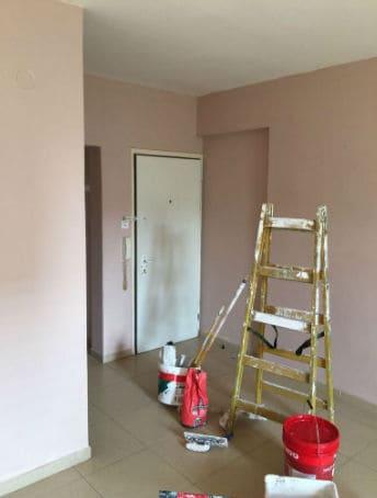 צביעת דירה 100 מטר בסילבס צבעים
